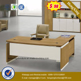 L形の支配人室表の木のオフィス用家具(HX-6M236)