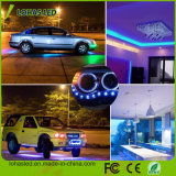 Smartphoneは防水任意選択DC12V 5m/Roll 300 LEDs 5050 SMD RGB WiFiスマートなLEDの滑走路端燈キットを制御した