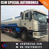Carro de petrolero de Bowser del agua del camión del portador de agua de la alta calidad JAC 16cbm 22cbm