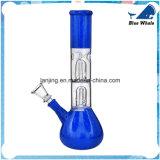 Schönes doppeltes Filtrierapparat-Vielzahl-Glas Waterpipe