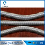 Tuyau flexible ondulé assurément de gaz d'acier inoxydable de qualité