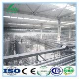 生産ラインを処理する機械を作る無菌Uhtの酪農場のミルク