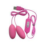 女性の性の製品USBの充満バイブレーターの性のおもちゃ