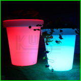 プラスチックによって照らされる植木鉢のホーム装飾LEDプランター