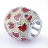 ブレスレットの宝石類のためのハンドメイドの銀製の卸し売りビード