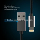 Spring Design Metallic Sync and Charge USB Cable for iPhone iPad