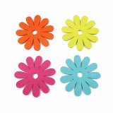 Spring Colors 100% Polyester Cup Coaster for Tabletop&Decorations