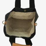 Impermeabilizar a señora lavada Handbag (A085-2) del cerrojo del color de papel de Kraft