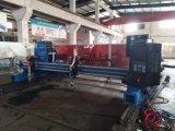 Plasma do CNC do pórtico e máquina de estaca de alumínio do oxigênio
