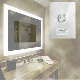 Desembaçador do espelho do banheiro da função da névoa de Defogger do espelho material do animal de estimação anti