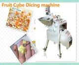 Taille de coupe en dés 3-25mm de découpage de machine de découpage de fruit de cube commercial en taro