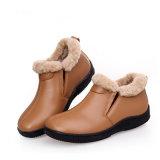 أستراليا مزدوجة وجه يبيطر فروة غنم عرضيّ نساء حذاء
