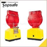 Luz de advertência de piscamento da barricada solar do diodo emissor de luz (S-1317)