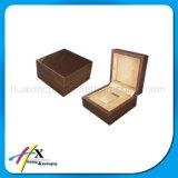 Singolo contenitore di vigilanza di legno laccato alta lucentezza personalizzato con il cuscino