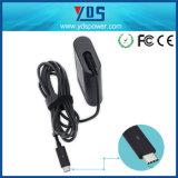 DELL를 위한 30W 20V 1.5A/12V 2A/5V 2A 유형 C 휴대용 퍼스널 컴퓨터 충전기