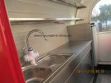 2.25m 섬유유리 판매를 위한 전기 이동할 수 있는 음식 온열 장치 손수레
