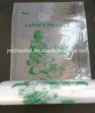 Пластичный мешок продукции с благодарит вас печатание