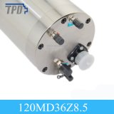 120mm 직경 8.5kw 물 냉각 가는 CNC 대패 스핀들 모터
