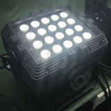 屋外LEDの同価をつけるIP65 20PCS DMXはライトを上演できる