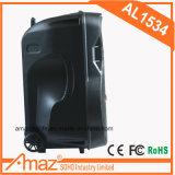 Haut-parleur à piles portatif bon marché de chariot avec USB/SD