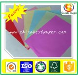 75g color en colores pastel papel offset