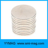 Magnete del disco dei magneti 1.26 del neodimio di alta qualità N52 '' da vendere