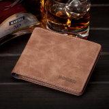 Вариант Burgos подлинный корейский бумажника людей нового бумажника портмона человека штейнового тонкого кожаный мыжского короткого