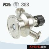 Válvula apertada asséptica da amostra da classe sanitária do aço inoxidável (JN-SPV1008)