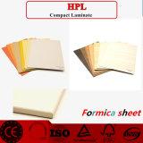 Hoja decorativa de alta presión /HPL de los laminados del precio barato