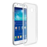 Caso macio transparente desobstruído Ultrathin de TPU para Samsung J7