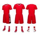 Il gioco del calcio Jersey del randello personalizza il disegno in bianco il vostro proprio calcio Jersey