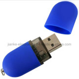 Plano Estilo USB pluma del flash con el logotipo impreso (140)
