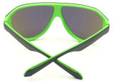 Gafas de sol grandes del marco de la nueva del diseño Fnp162358 lente integrada de la calidad