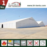 Grande barraca permanente do armazém com flama - telhado impermeável retardador