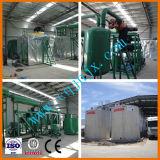 Refinaria de petróleo do motor do desperdício de uma capacidade de 20 toneladas e planta de destilação