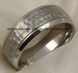Ringen van het Titanium van het Ontwerp van de Juwelen van de manier de Zwarte Nieuwe (TR1829)