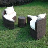 Im Freien Rattan-Möbel Yin Yang Freizeit-Sofa