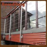 304/316 di balaustra dell'acciaio inossidabile per l'inferriata della piattaforma della rete metallica (SJ-H083)