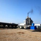 La Chine a évalué 80 tonnes de chaud pour la centrale de malaxage d'asphalte de vente avec le service d'outre-mer