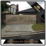 Cancello di alluminio dell'iarda anteriore per la villa