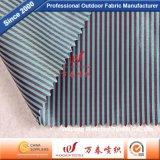 폴리에스테 의복 안대기를 위한 양이온 줄무늬 직물