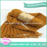 Manter o lenço longo acrílico fresco do algodão morno do inverno