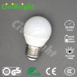 G45 E27 6W LED enciende el bulbo global de SMD 2835