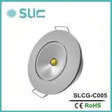 クリー族チップ(Slcg-C005)が付いている1Wアルミ合金LEDのキャビネットライト