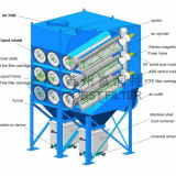 Sistema de extractor de polvo del cartucho de filtro de Forst