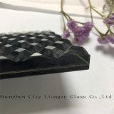 vetro/di vetro laminato/arte di 10mm+Silk+5mm vetro di vetro/Tempered stampato seta per la decorazione