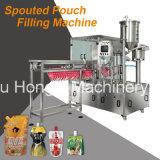 Side Spouted Pouch Máquina de enchimento automático de enchimento para suco