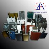 Perfil de la aleación de aluminio para las puertas