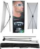 X Banner Stand, Spider Stand Display avec Carton Fiber Pole
