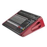 Som audio novo do amplificador das canaletas do misturador 12 da potência com o 500W para o sistema de som